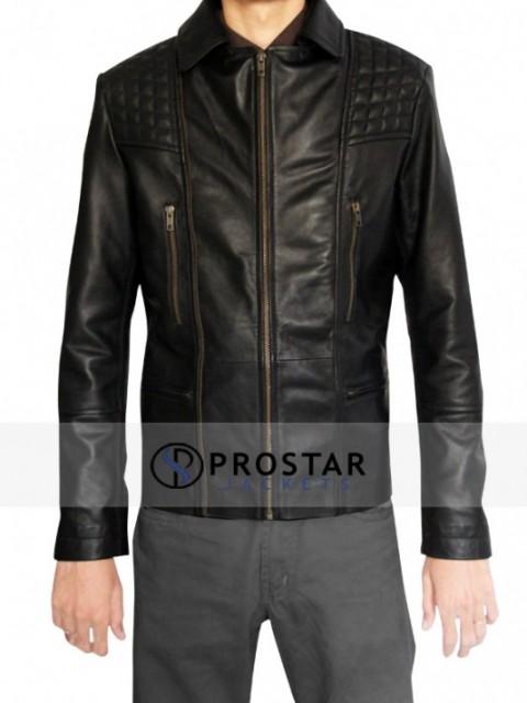 prostarjackets.com Aaron Paul Jacket | The Roxy Arcade Fire Concert Jacket