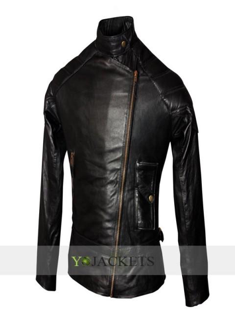 YO JACKETS Wanted Jacket | Black leather Angelina Jolie Jacket