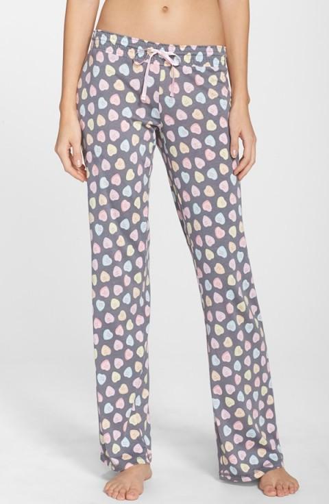 PJ Salvage 'Candy Hearts' Pajama Pants