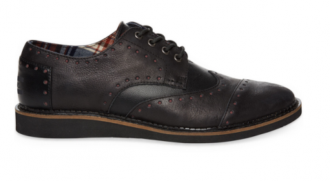 toms Leather Men's Brogues