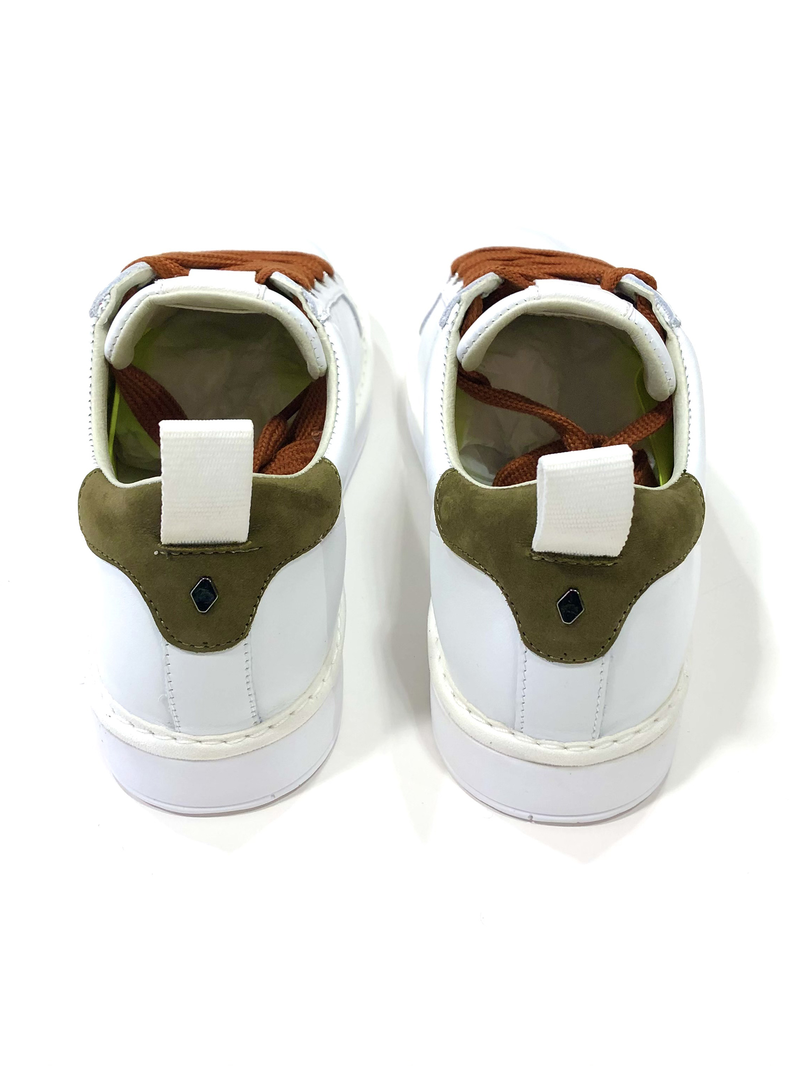 SNEAKERS WHITE MILITARY Panchic | Scarpe | P01M16001LK1WHITE/MILITARY GREEN