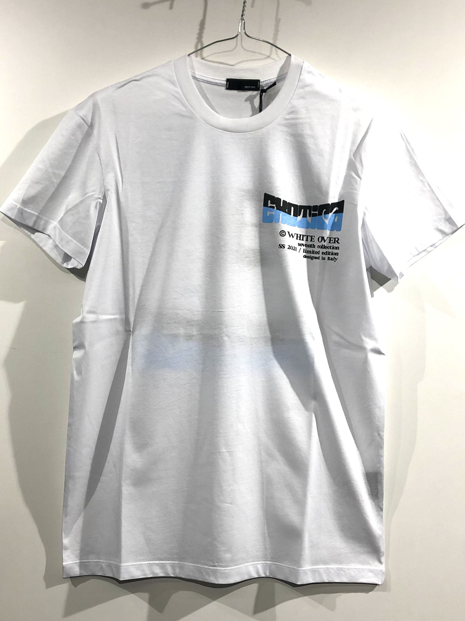 T SHIRT KAMAR BIANCA White over | T shirt | TS00111KAMAR