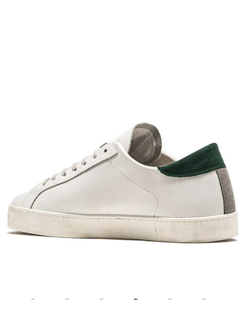 HILL LOW CALF WHITE GREEN D.A.T.E. | Scarpe | HILL LOW CALFWHITE GREEN