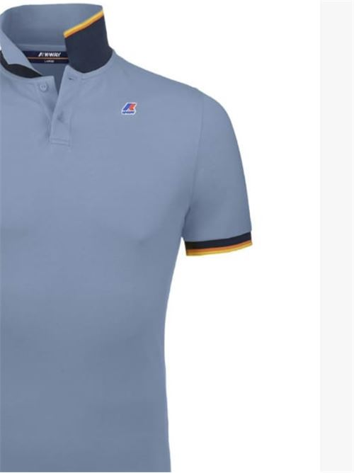 POLO VINCENT CONTRAST  AZURE K-WAY | Polo | K008J50XHC