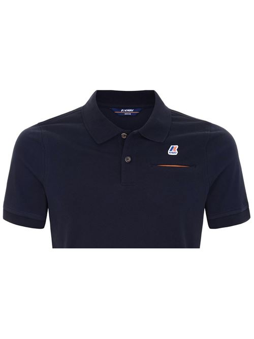 POLO BRIAC STRETCH BLUE DEPHT K-WAY | Polo | K00BCMOK89
