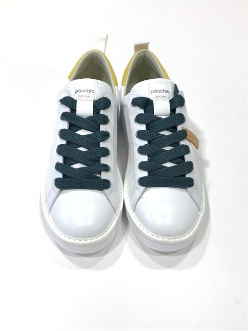 SNEAKERS WHITE YELLOW Panchic | Scarpe | P01M16001LK1WHITE/YELLOW PETROL
