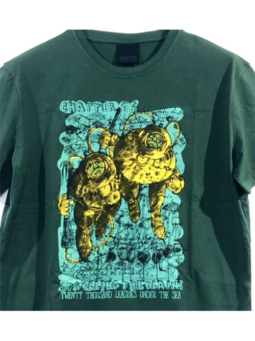 SHIRTY DIVERS VERDE SCURO RRD | T shirt | 2115620