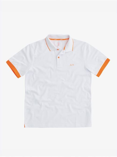 POLO SMALL STRIPES FLUO EL Sun 68 | Polo | A3111801