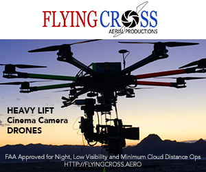 Flying Cross Aerial Productions, Heavy Lift Cinema Camera Drones