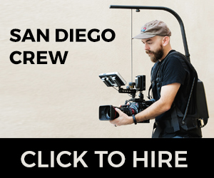 Click here to hire Chris Francis, a San Diego based cinematographer and director of photography.