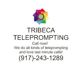 Tribeca Teleprompting New York New Jersey