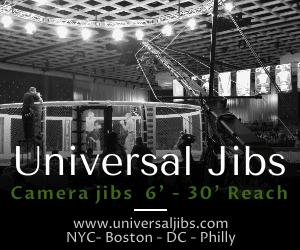 Universal Jibs / Jib Operator  Jib Rental  Crane operator camera op New York New Jersy