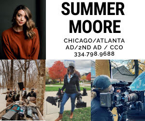 Summer Moore 1st AD 2nd AD Assistant Director PA Covid Compliance Officer