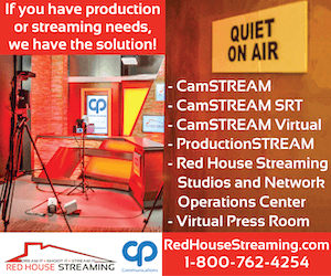 CP Communications - Florida / Red House Streaming Studios Live Streaming Sports News