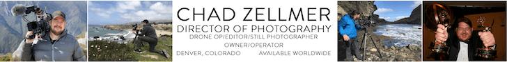 Chad Zellmer DP Cinematographer Camera Operator Denver Colorado