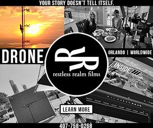 Steve Radley Restless Realm Films Orlando Florida Drone Aerial Video