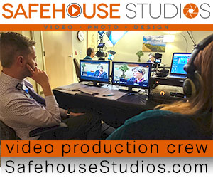 Safehouse Studios video production crew, cinematographer, director of photography NC based