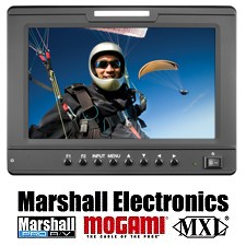 """Marshall's New 7"""" Camera-Top Monitor Offers All Inputs In One Unit"""