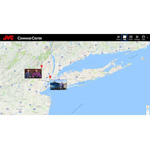 JVC INTRODUCES PROHD COMMAND CENTER FOR REAL-TIME MONITORING OF GPS-ENABLED RESOURCES