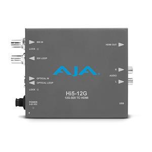 AJA Introduces Hi5-12G and HA5-12G Mini-Converters at InfoComm 2018