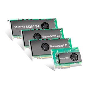 Matrox M264 Hardware Codec Cards Earn XAVC™ Validation for High-Density 4K Workflows
