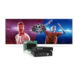 Matrox Now Shipping Groundbreaking QuadHead2Go Multi-Monitor Controllers For Next-Generation Video Walls
