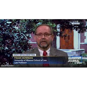Reynolds Journalism Institute uses the Quicklink TX for Washington Journal interview