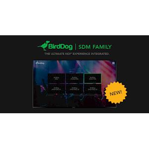 BirdDog Announces SDM Family Powered by BirdDog OS