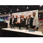 The Convergence TV Project receives the 2018 NAB Technology Innovation Award for its ATSC3 SHVC based HD/UHD hybrid delivery demonstration