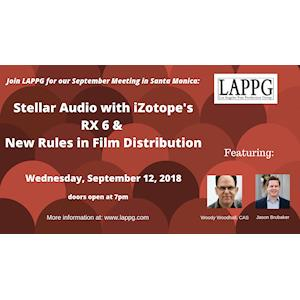 Tips for Stellar Audio with iZotope's RX 6 & New Rules in Film