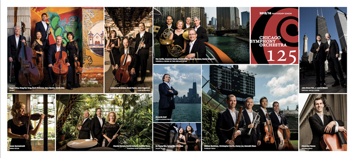 Chicago Symphony Orchestra- 125 years