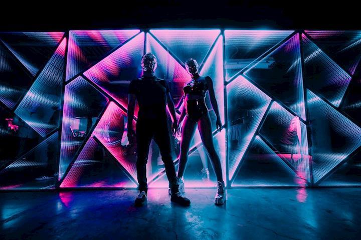 Infinity Mirrors, Seismic Dance Event, 2019