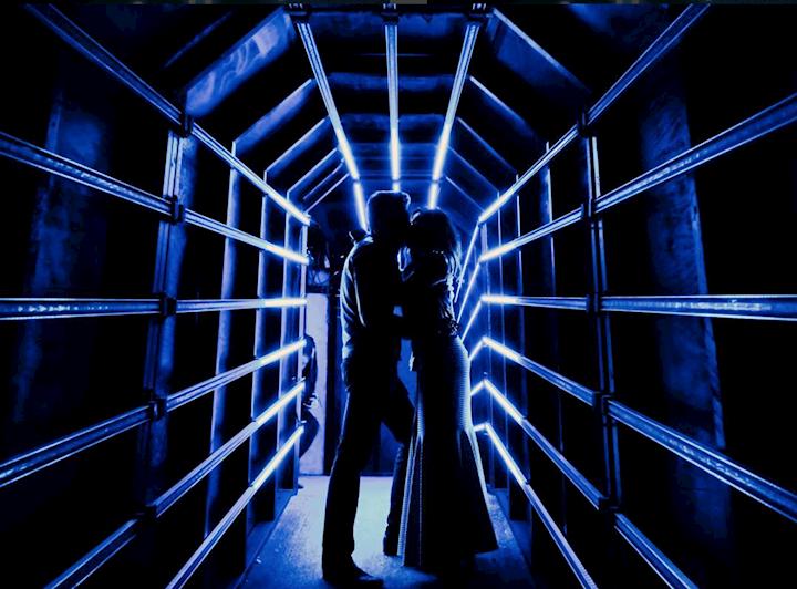 LED Tunnel, Mashable 2017