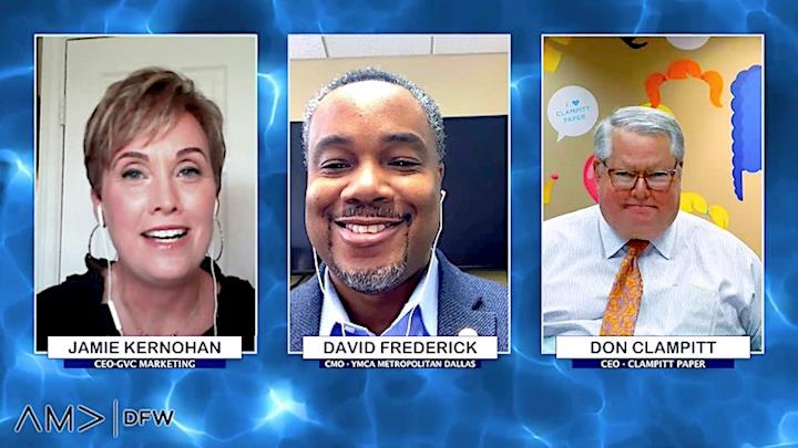 The DFW AMA takes their luncheon panel events online!
