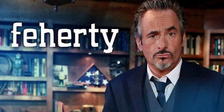 David Feherty - The Feherty Show Golf Channel Hair and Makeup: Meredith Boyd Cosmetics