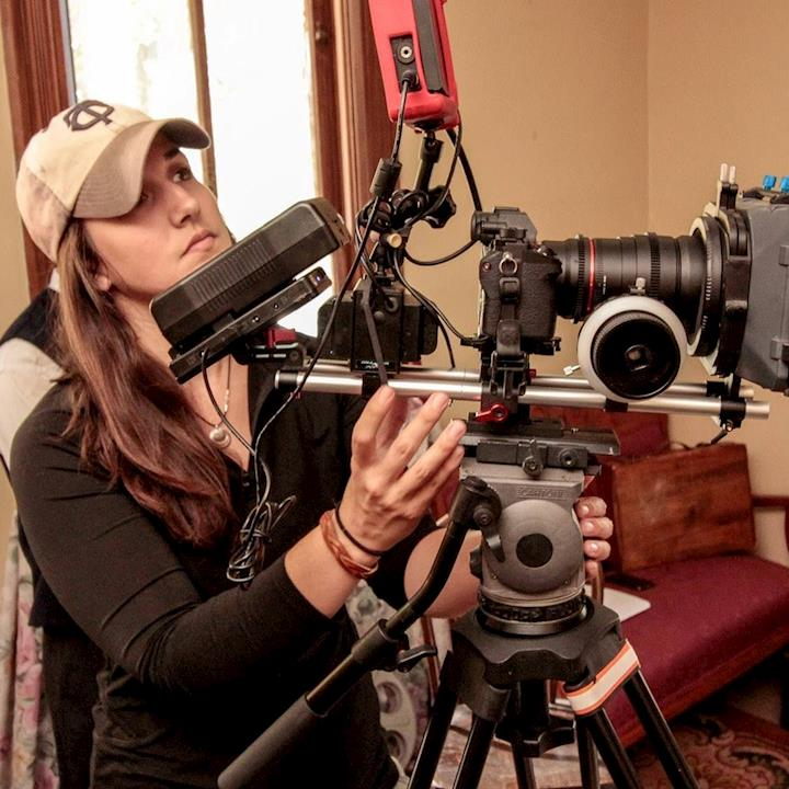 Director of photography on short film set in 1920s