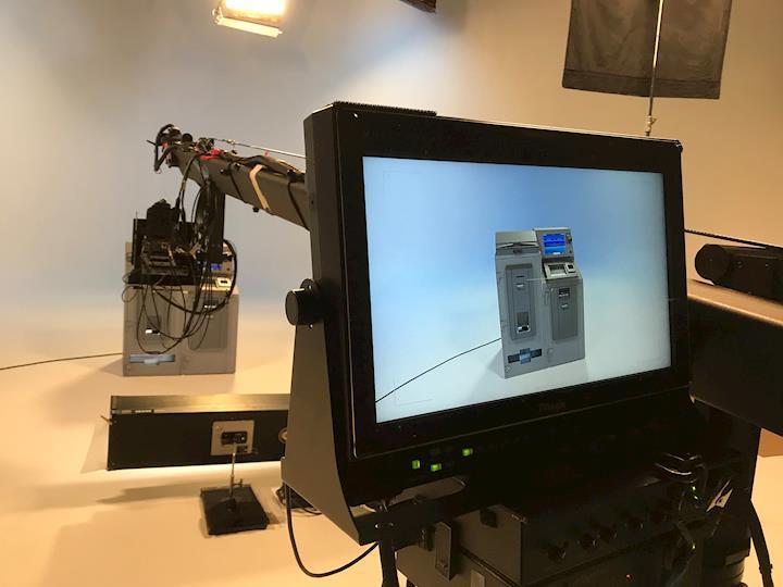 Studio Shooting with Jib