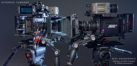 Our Arri Alexa Minis with our Kowa Anamorphic lenses.