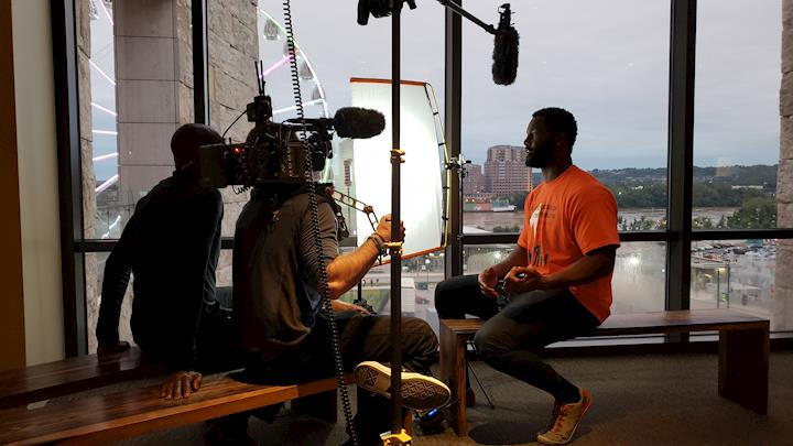 "BTS of ""Undrafted NFL Network"""