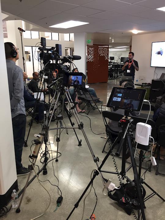 Live streamed Scaled Inference company presentation