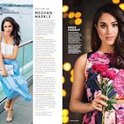 TV's Meghan Markle for Good Housekeeping (2015) photographer Bryan Derballa, produced by MDP