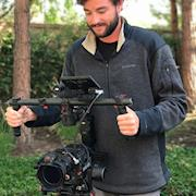 """""""candid"""" photo with the RED Epic."""