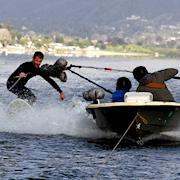 Surfing Lake Elsinore