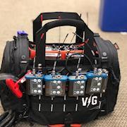 Sound Device 633 - 2 Receiver - 4 Transmitter