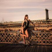 Anna Roszcyk Portrait- Brooklyn Bridge