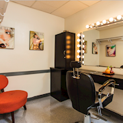 1 of 2 Make-up Rooms