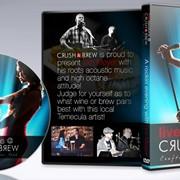 Crush & Brew DVD layout