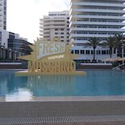 Fresh Moschino Floating Prop for event at Art Basel