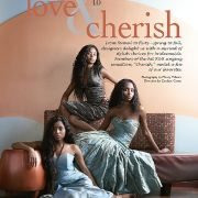 Fashion editorial photo shoot for Brides Noir magazine of R&B group Cherish.  Makeup and hair by Candace Corey.