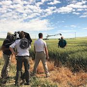Field interviews with Director Peter Bostoan